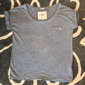 Grey Abercrombie &Fitch Tee